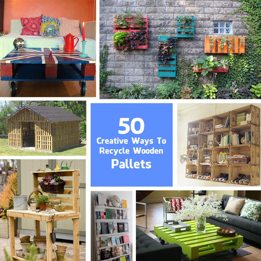 Recycle Pallet: 50 Creative Ways To Recycle Wooden Palette