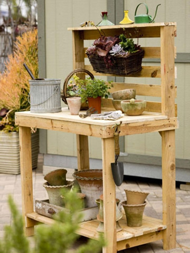 50 creative ways to recycle wooden palette diy projects for 50 wood pallet projects