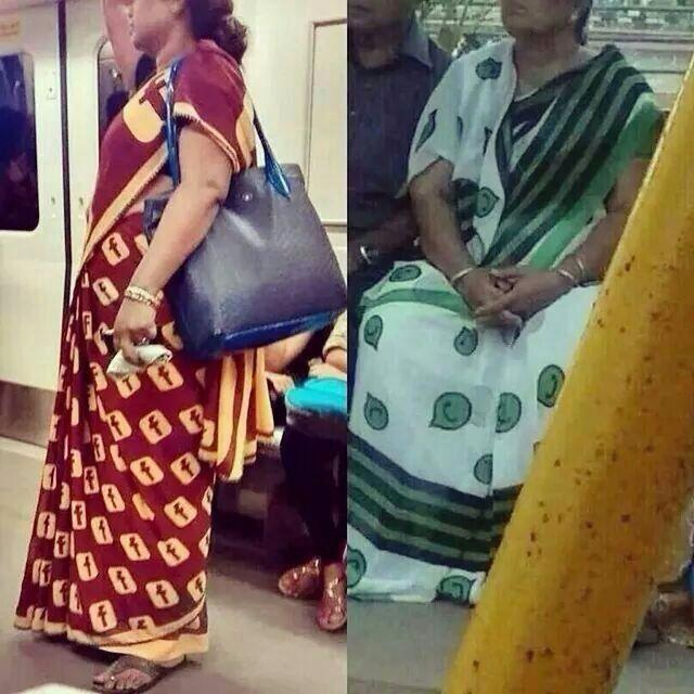 Facebook and Whatsapp Saree