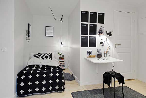 Make your small Bedrooms look bigger - 25 Ideas (14)