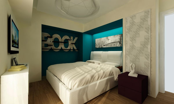 Make your small Bedrooms look bigger - 25 Ideas (19)