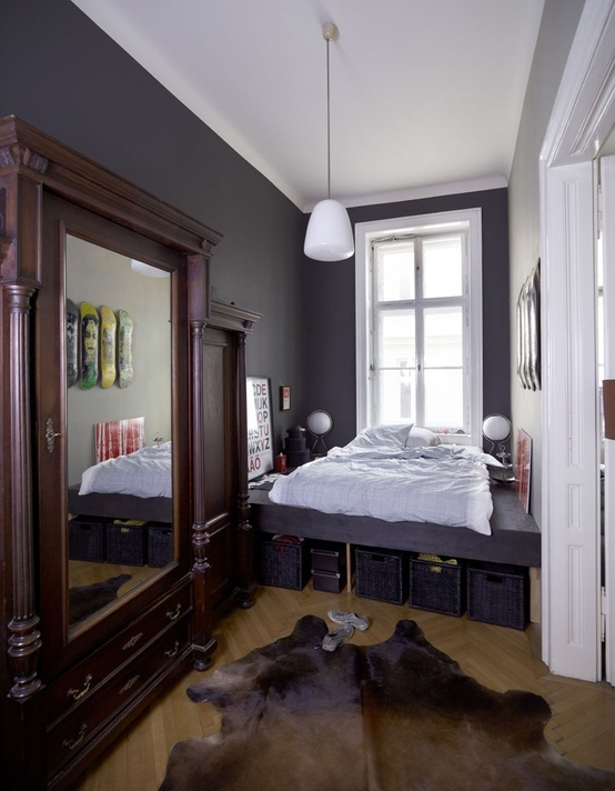 Make your small Bedrooms look bigger - 25 Ideas (23)