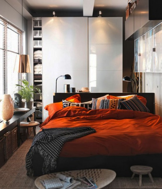 Make your small Bedrooms look bigger - 25 Ideas (24)