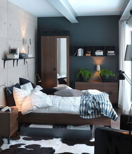 Make your small Bedrooms look bigger - 25 Ideas (25)