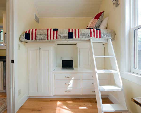 Make your small Bedrooms look bigger - 25 Ideas (8)