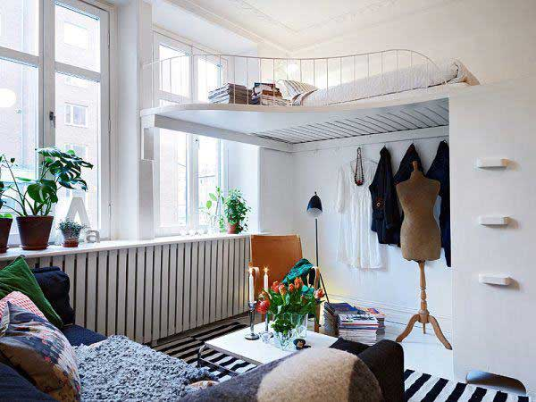 Make your small Bedrooms look bigger - 25 Ideas (9)
