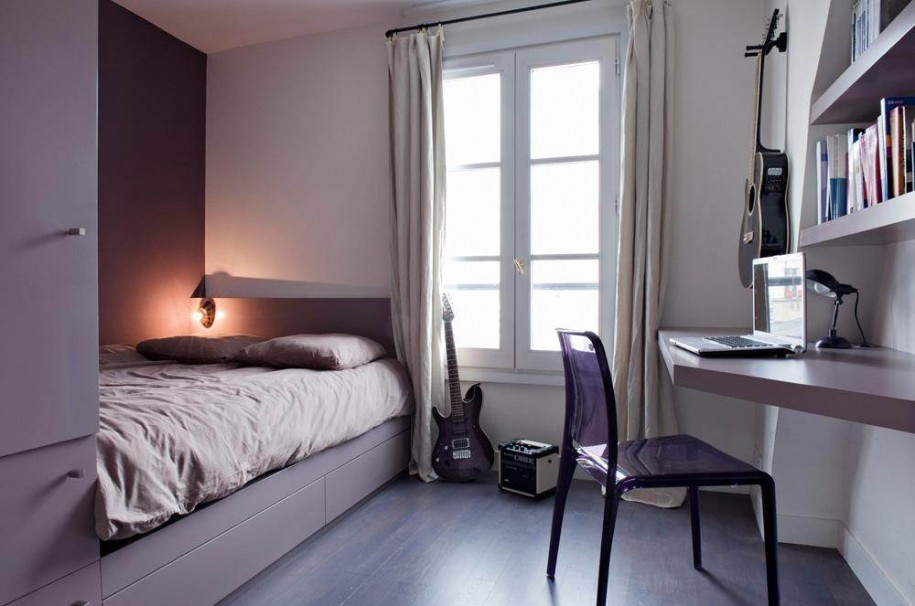 Make your small Bedrooms look bigger - 25 Ideas