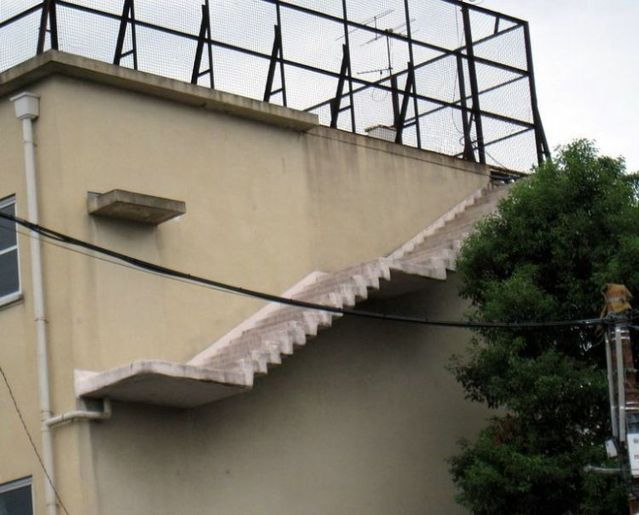 And these stairs from nowhere, to nowhere