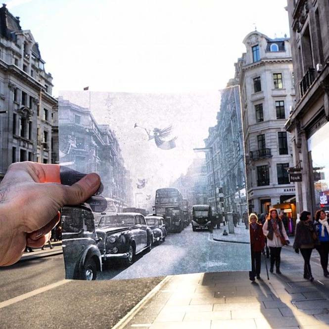 Comparing London Then And Now (1)