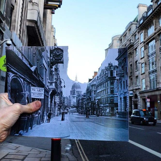 Comparing London Then And Now (10)