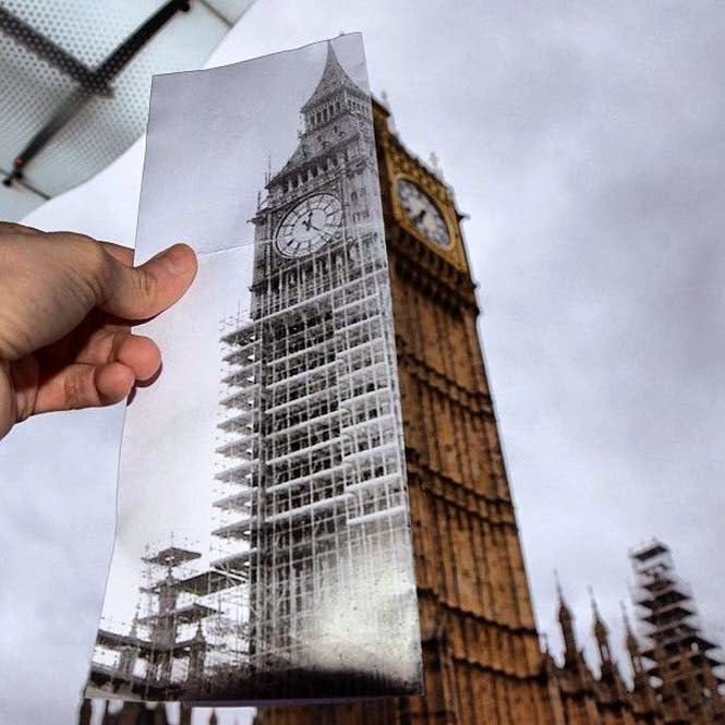 Comparing London Then And Now (11)