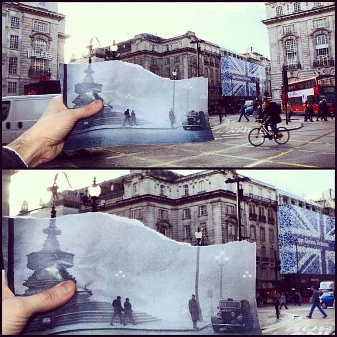 Comparing London Then And Now (14)