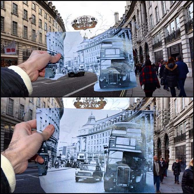 Comparing London Then And Now (15)