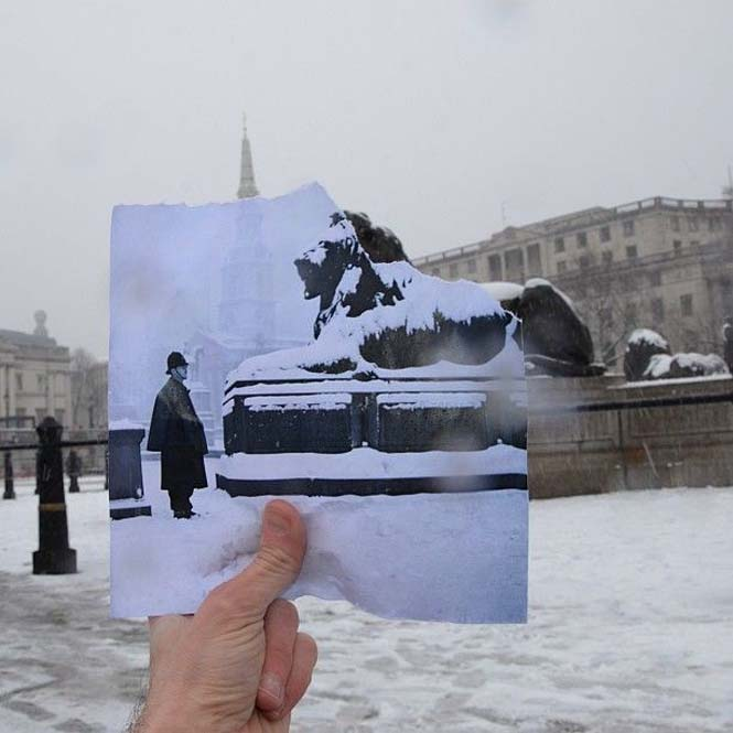 Comparing London Then And Now (2)