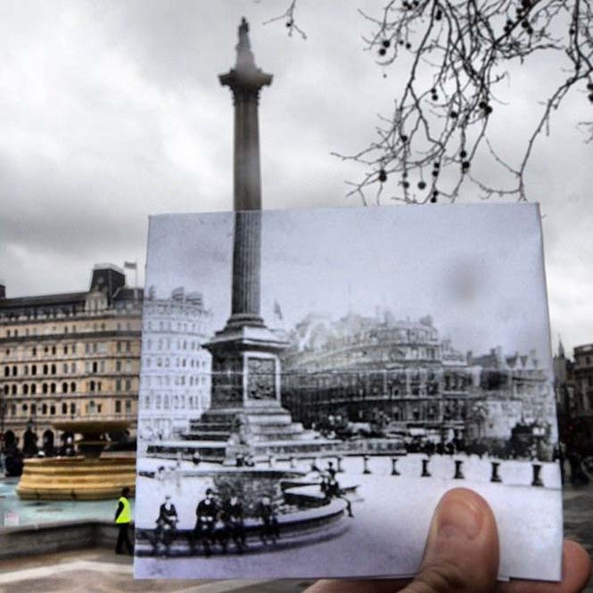 Comparing London Then And Now (3)