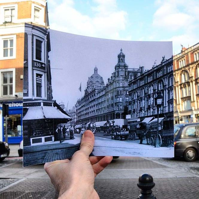 Comparing London Then And Now (5)