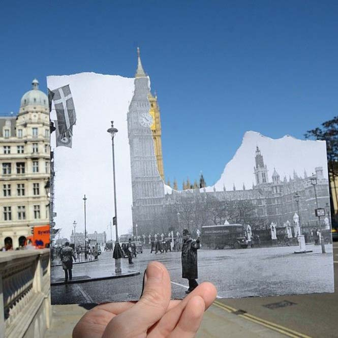 Comparing London Then And Now (7)