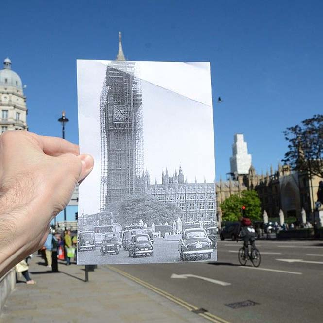 Comparing London Then And Now (8)