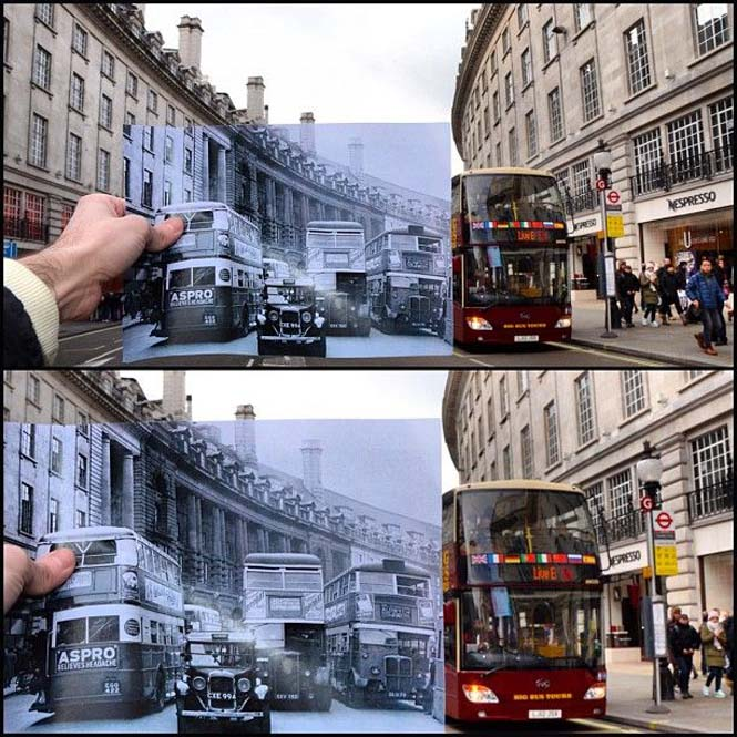 Comparing London Then And Now (9)